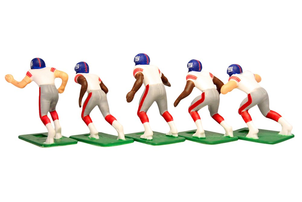 Tudor Games New York Giants Away Jersey NFL Action Figure Set by Tudor Games (Image #3)