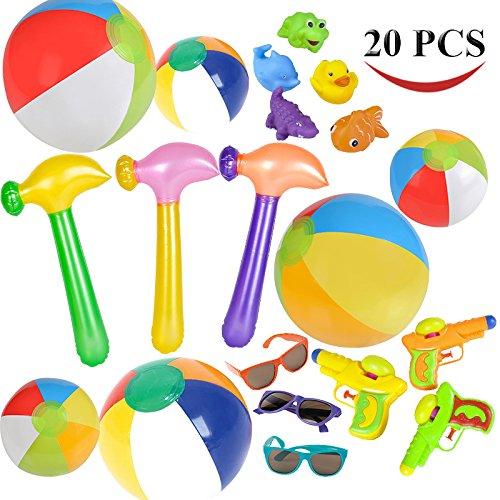 Joyin Toy 20-Piece Summer Pool Toys,  Assorted