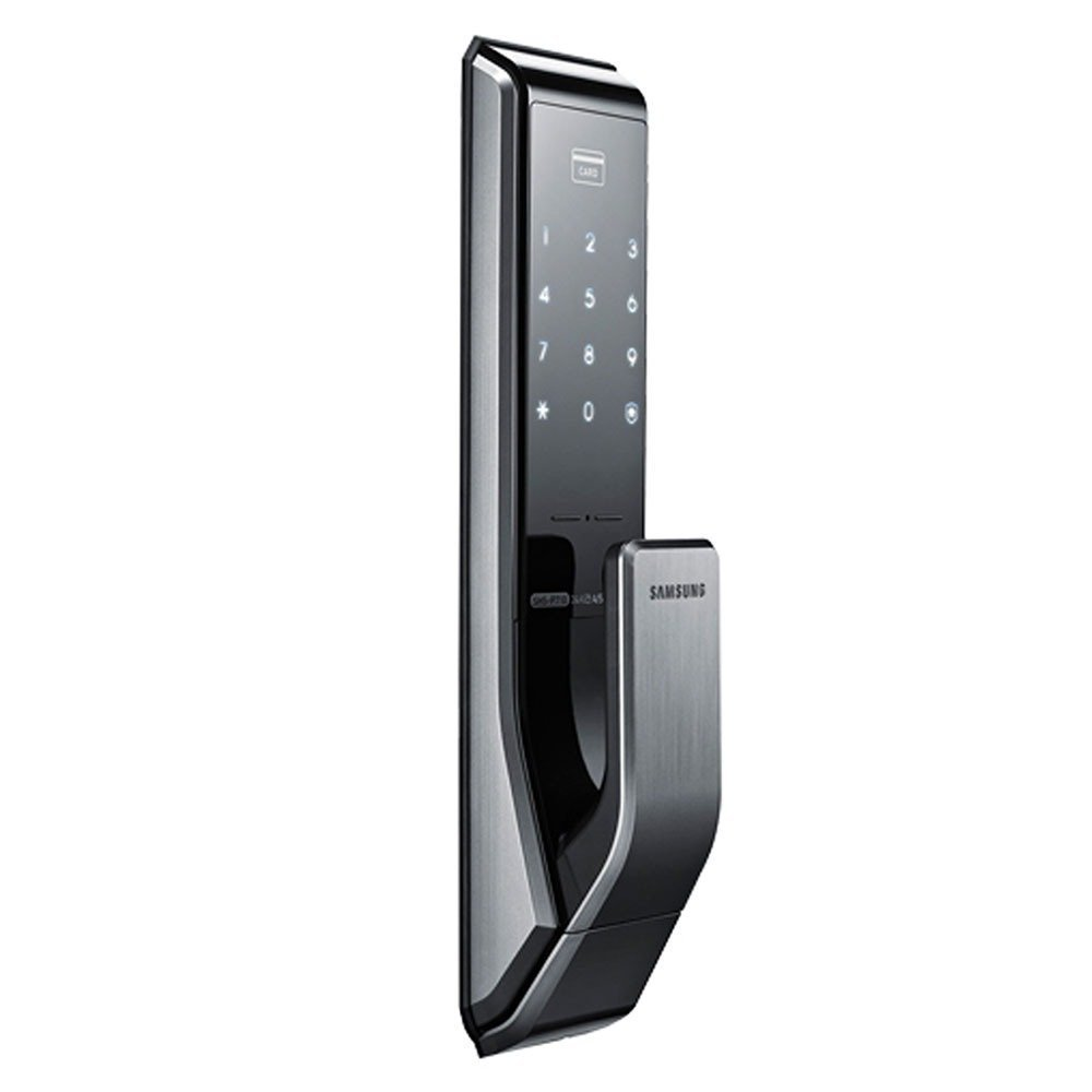 Samsung New Concept in Digital Door Lock SHS-P717LMK/EN Push Pull, Two Way Latch Mortise ENGLISH VERSION