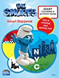 Smurfs Movie Giant Color Book - Smurf Happens!