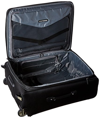 Travelpro Crew 11 Expandable Rollaboard Wheeled Suiter Suitcase, Black by Travelpro (Image #4)