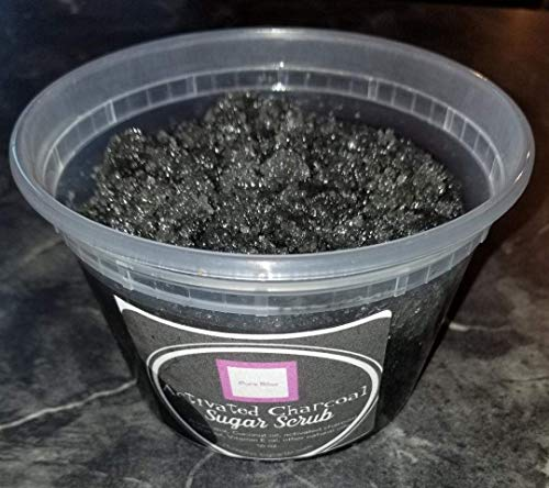 Activated Charcoal Sugar Scrub 16 Oz.