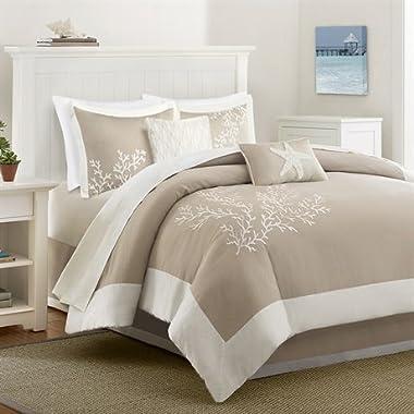 BR &Nameinternal Coastline Comforter Set Cal King Khaki