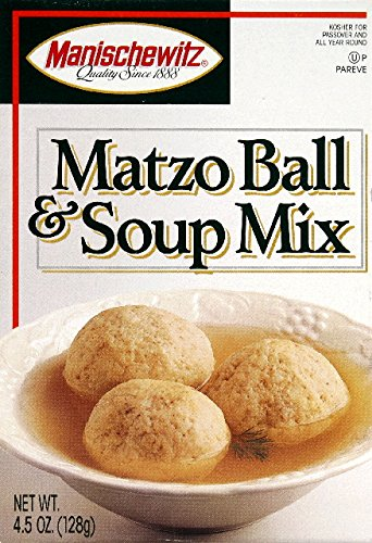 Manischewitz Matzo Ball & Soup Mix 4.5 OZ(Pack of 2) by MANISCHEWITZ