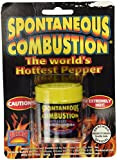 Spontaneous Combustion Worlds Hottest Pure Ground Red Savina Habanero Powder