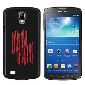 Stuss Case / Funda Carcasa protectora - Red Bamboo - Samsung Galaxy S4 Active i9295