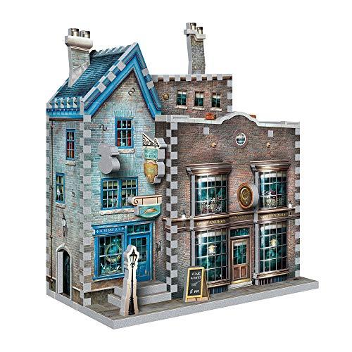 WREBBIT 3D Harry Potter Ollivander's Wand Shop & Scribbulus 3D Jigsaw Puzzle (295-piece)