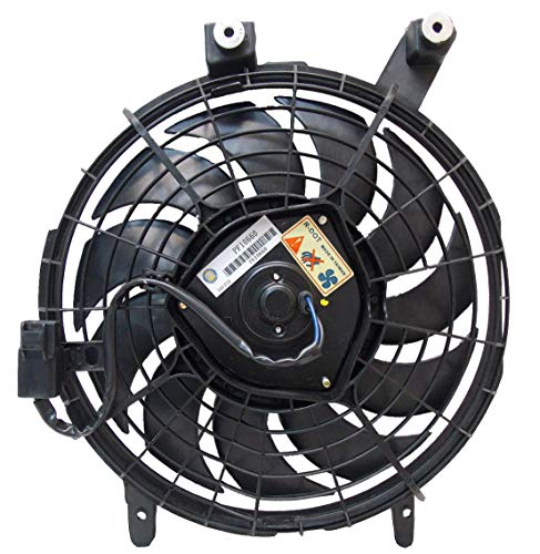 - Sunbelt AC Condenser Fan Assembly For Toyota Corolla Geo Prizm TO3113105 Drop in Fitment