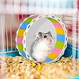 Tauner Hamster Wheel Toy Silent Exercise Runner