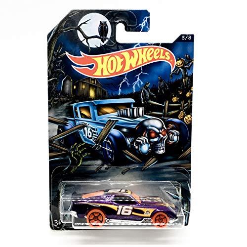 hot wheels happy halloween blvd bruiser purple 5 of 8 2016]()