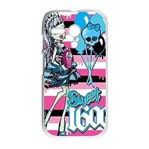Motorola G Cell Phone Case White girly 218 GY9086791