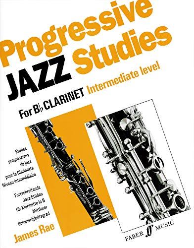 Progressive Jazz Studies for B-flat Clarinet, Bk 2 (Faber ()