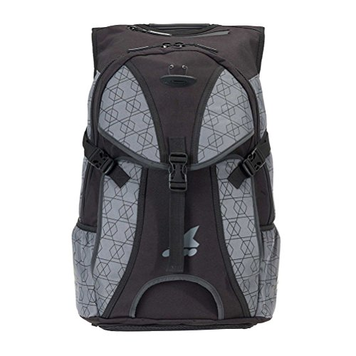 Rollerblade Backpack Pro LT 30, Inline Skate, Multi Sport, Grey, One Size (Skate Pack)