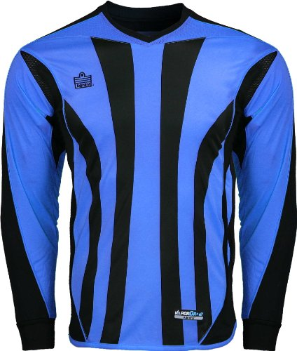 (Admiral Bayern Goalkeeper Jersey, Royal/Black, Adult Medium)