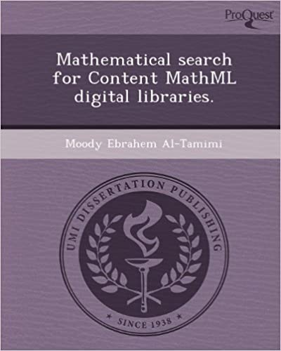Mathematical Search for Content Mathml Digital Libraries