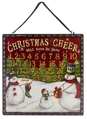 Grasslands Road Snowman Christmas Cheer Magnetic Count Down to Christmas Advent Calendar #471081 ()