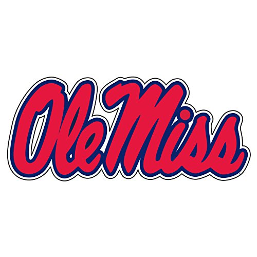 Mississippi Decal BLU/RED OLE MISS DECAL 6