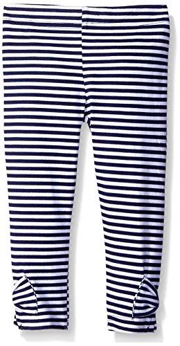 Gerber Graduates Girls Legging, Navy Stripe, 5T (Blue Stripe Leggings)