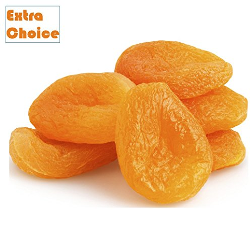 Turkish Apricots - No.4 Extra Choice Dried Apricots, Turkish Apricots, SIZE #4 (5 LB)