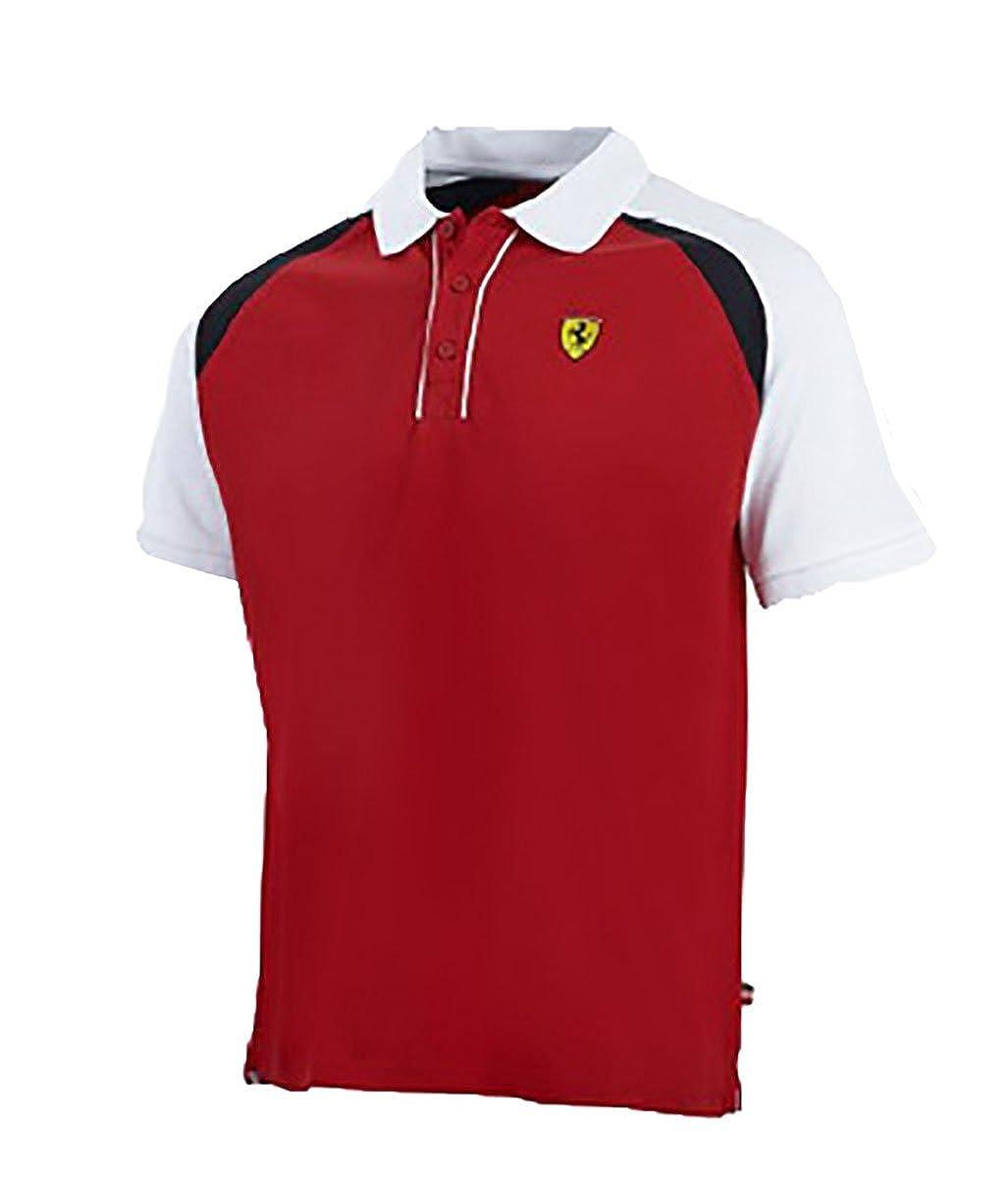 Ferrari - Polo - para hombre rojo XL: Amazon.es: Ropa y accesorios