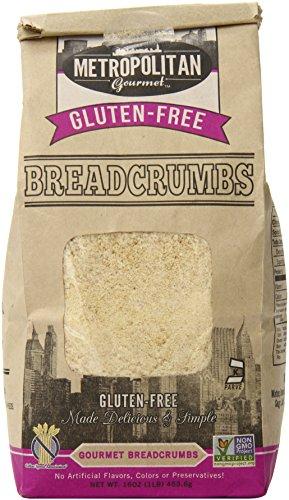 Metropolitan Gourmet Gluten Free Breadcrumbs, 16 Ounce (Brown Rice Bread Crumbs compare prices)