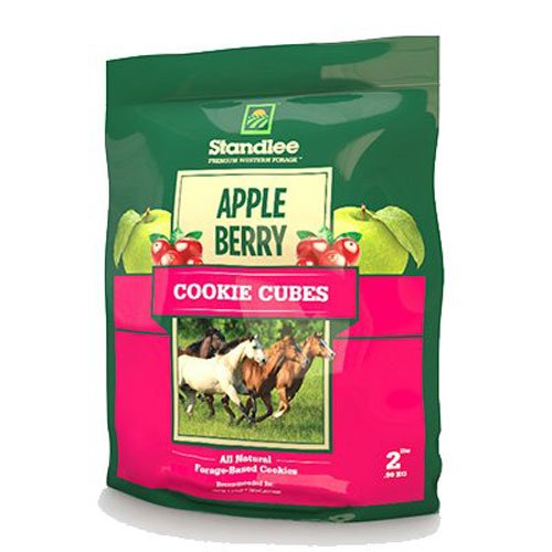 Standlee Hay Company Apple Berry Cookie Cubes Treats, Size 2