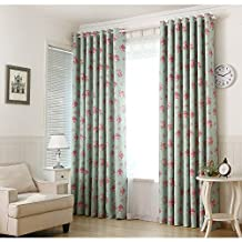 "Countrycurtains Flowers Window Curtains Kids Children Blackout Top Eyelet Drapes 54""x84"" 1 Panel"