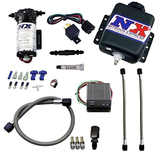 - Nitrous Express 15021 Water-Methanol Injection System for Gas Stage 2 Boost Controlled Engine