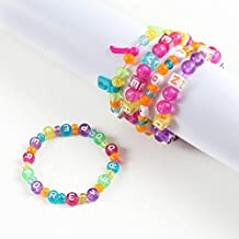 ABC Beads & Charms Friendship Bracelet Jewelry Making Kit - Over 1000 Beads