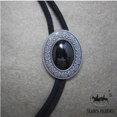 corbata de bolo cordón oeste ónix negro plata: Amazon.es: Hogar