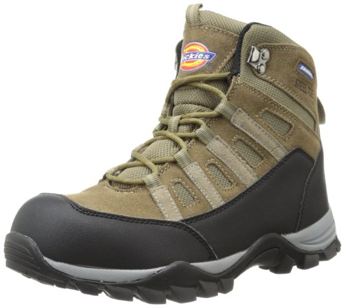Dickies Men's Escape Hiker 6 Inch Steel-Toe Work Boot,Brown,9.5 M US