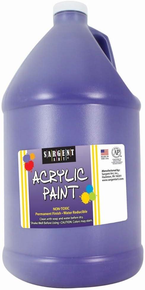 Sargent Art, Violet, Acrylic Paint, 64 oz. Bottle