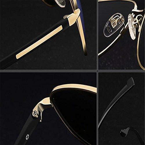 ZX en Protection Soleil Lunettes Couleur Armature Lentille Métal 4 des De Hommes Lunettes Protection Léger Poids UV 400 des 1 r6TWfZrn