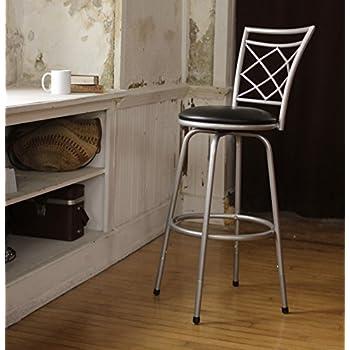Amazon Com Roundhill Furniture Redico Adjustable Metal