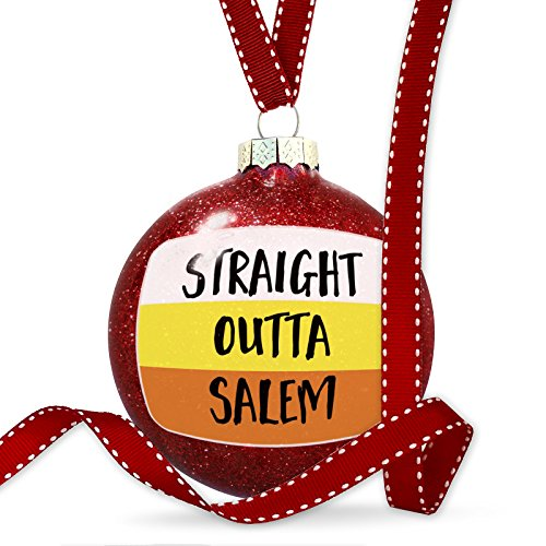 NEONBLOND Christmas Decoration Straight Outta Salem Halloween Candy Corn -