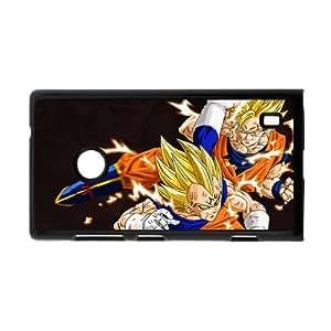 Japanese anime tv series DBZ,Dragon Ball Z,Son Goku Personalized Nokia Lumia 520 Hard Plastic Black Case Cover Shell (HD image)