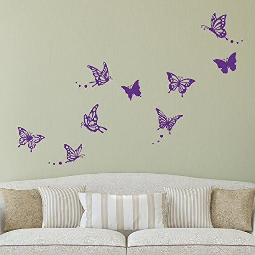 Decowall DWG 601P Modern Butterfly Graphic product image