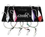 Multi Color Wahoo Lure Set - 4pk- Tuna Dorado Replaces Braid Marauder - Yo-Zuri