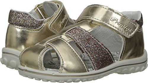 Primigi Infant Shoes (Primigi Kids Baby Girl's PSW 7557 (Infant/Toddler) Gold/Pink Shoe)