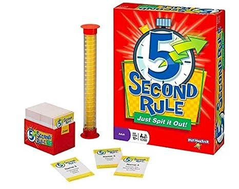 Juego de Reglas de 5 Segundos y ¿prefieres Hacerlo? Caja de Juego ...