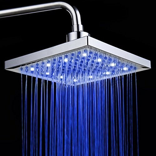 Led 3 Color Changing Lights Shower Head