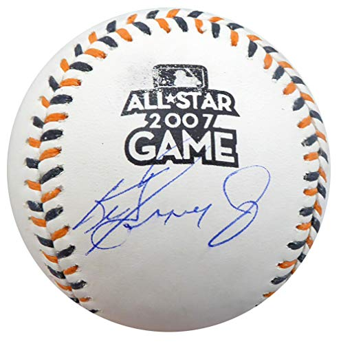 Ken Griffey Jr. Autographed Official 2007 All Star Game Baseball Seattle Mariners Tristar & MCS Holo Stock #143261