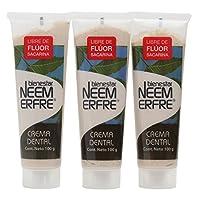 Paquete de 3 - Crema Dental Artesanal de Corteza de Neem