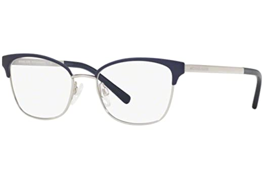 46ab4d3a2fd Michael Kors ADRIANNA IV MK3012 Eyeglass Frames 1134-49 - Navy-Silver