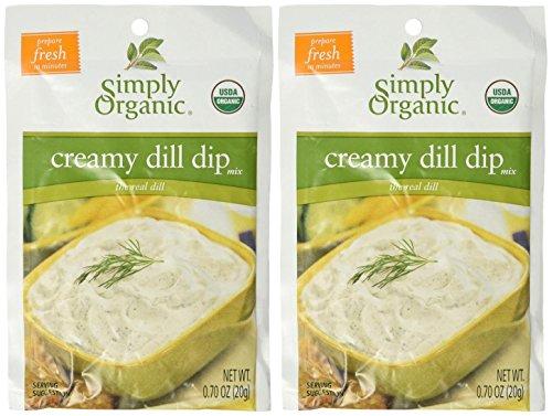 Simply Organic Dip Mix-Creamy Dill-0.7 Oz