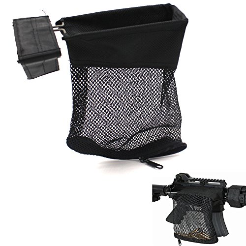 Tactical Deluxe Mesh AR15 AR-15 Rifle Brass Shell Bullet Catcher Bag (500 g shell)