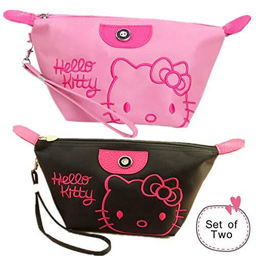 (Kerr's Choice Cosmetic Bag Makeup Bag Hello Kitty Toiletry Bag Hello Kitty)