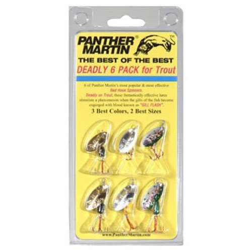 Panther Martin Best of the Best Kit. (Best Inline Spinners For Trout)