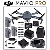 DJI Mavic Pro Fly More Combo Kit + SONY 32GB microSD Memory Card & MORE! (26pc Bundle)