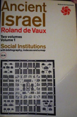 Ancient Israel:  Social Institutions